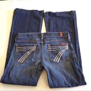 7 For All Mankind Dojo Jeans 25/29